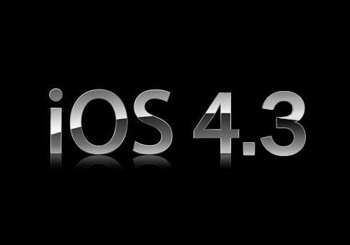 iOS 4.3, Apple